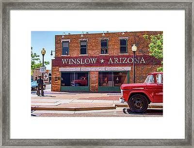 It's A Girl My Lord In A Flatbed Ford Framed Print