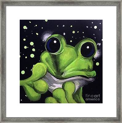 It's A Great Day Framed Print