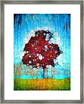 It's A Hard Life For A Tree Framed Print by Tara Turner