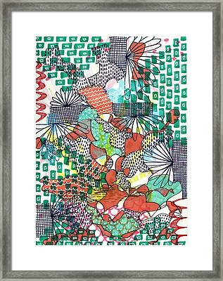 It's A Jungle Out There Framed Print by Lisa Noneman