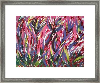 It's A Jungle Out There Framed Print by Tonya Merrick
