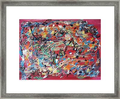 Its A Surprise Framed Print by Levi Porter