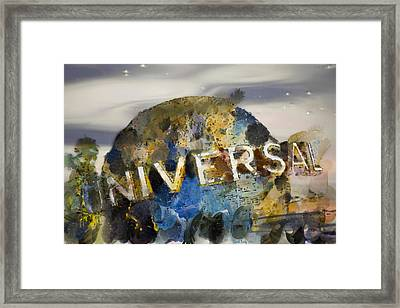 It's A Universal Kind Of Day Framed Print