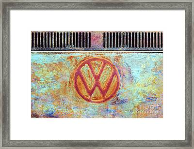 Its A Van Thing Framed Print by Tim Gainey