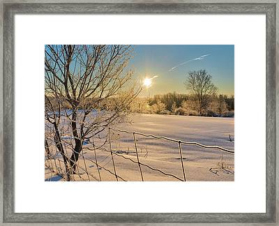 It's A Warm Cold... Framed Print