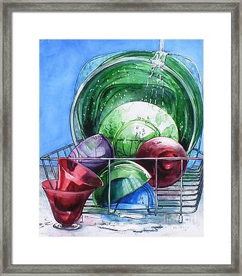 Its A Wash Framed Print