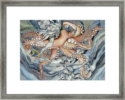 Its A Wonderful Wonderful World Framed Print by Liduine Bekman