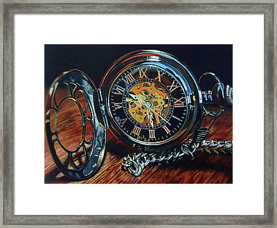 It's About Time Framed Print by Eric Renner