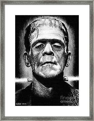 Its Alive Framed Print by Andrew Read