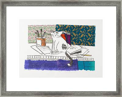 Its All About Me Framed Print by Leela Payne