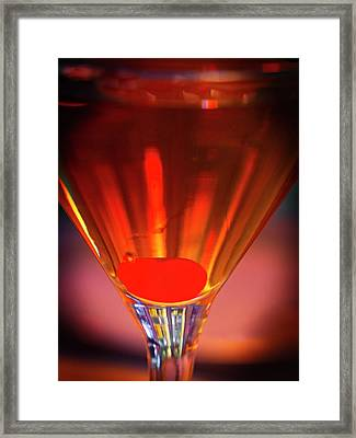 It's All About The Cherry Framed Print by David Kay
