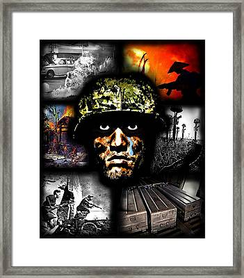 Its All In Your Head Framed Print