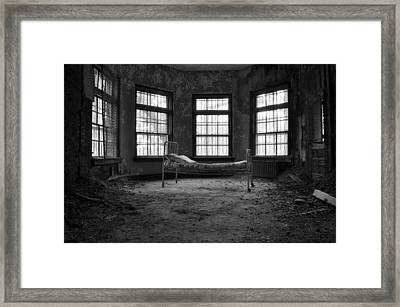It's All In Your Head Framed Print by Luke Moore