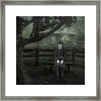 Framed Print featuring the digital art It's All Relative by Kathleen Holley