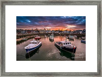Its All Risky Business After Five Framed Print