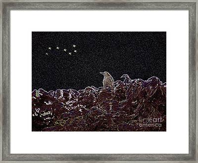 It's Almost Dawn Framed Print by Kathy Daxon