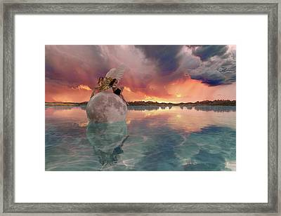 It's Almost Time Framed Print by Betsy Knapp