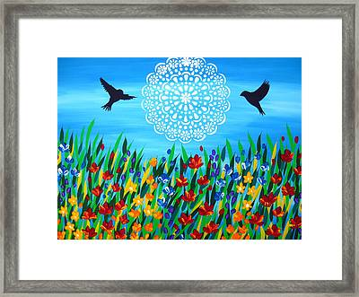 It's Always Been You Framed Print by Cathy Jacobs