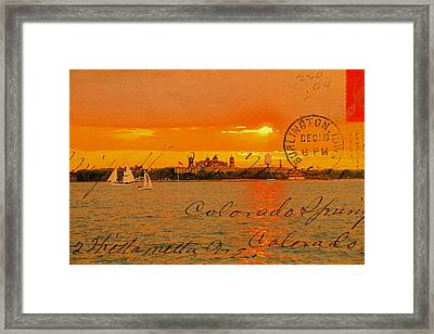 Its Beautiful Here In New York Framed Print by Alice Gipson