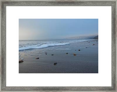 It's Been A Cold December Framed Print