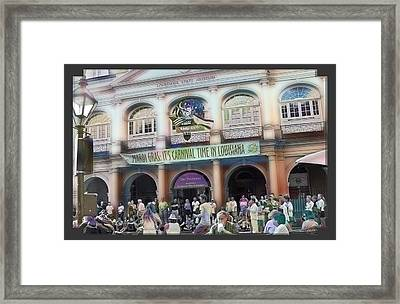 It's Carnival Time Framed Print by Linda Kish