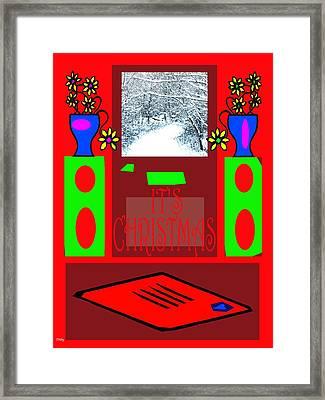 It's Christmas 4 Framed Print by Patrick J Murphy