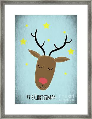 Its Christmas Framed Print by Angela Doelling AD DESIGN Photo and PhotoArt