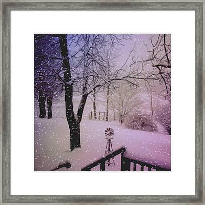 It's Cold Out There Framed Print