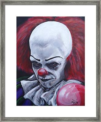 It's Coming Framed Print