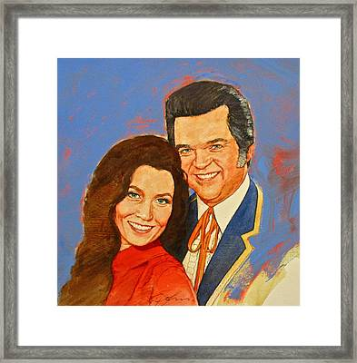 Its Country - 12 Loretta Lynn Conway Twitty Framed Print