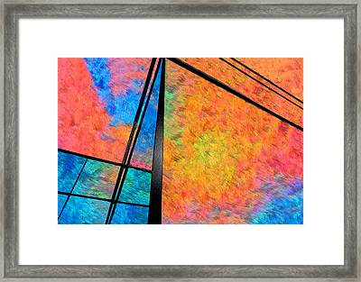 It's Done With Mirrors Framed Print