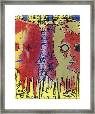 It's Easy If You Try Framed Print by Robert Wolverton Jr