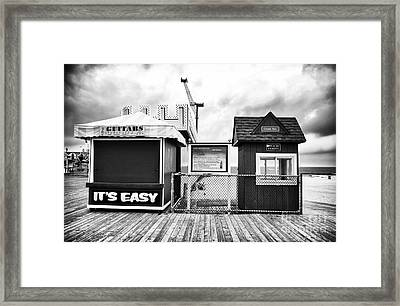 Its Easy Framed Print by John Rizzuto