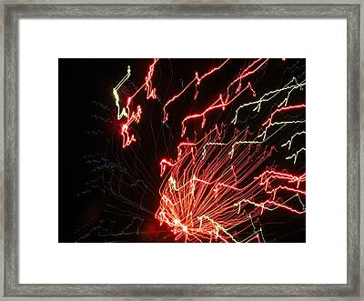 Its Electric Framed Print by James and Vickie Rankin