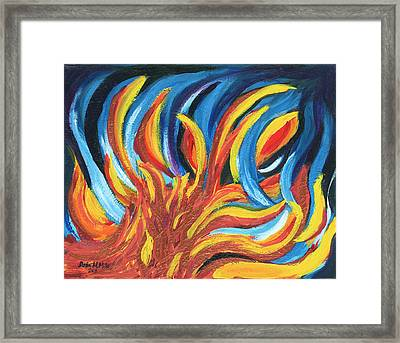 Its Elemental Framed Print