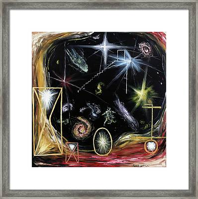 It's Full Of Stars  Framed Print by Ryan Demaree