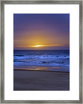 It's Going To Be A Lovely Day Framed Print by Betsy Knapp