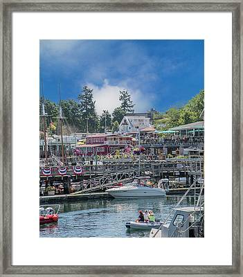 It's Gonna Be A Bright Sunshiny Day Friday Harbor Framed Print