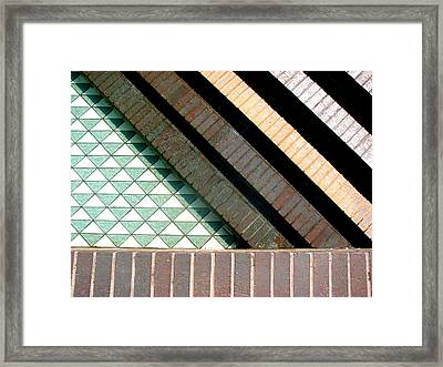 Its Got All The Angles Framed Print