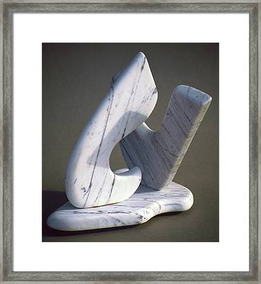 Its Got To Love Framed Print by Lonnie Tapia