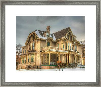 Its History-3 Framed Print