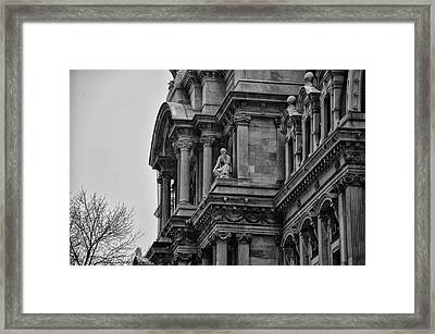 It's In The Details - Philadelphia City Hall Framed Print