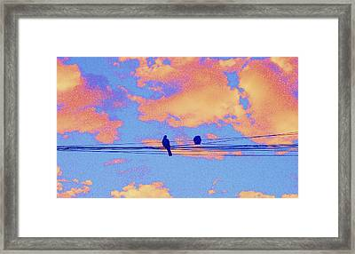 It's Morning Framed Print by Kathy Daxon