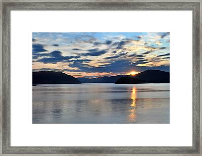 Its Morning Framed Print by Terence Davis