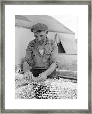 Framed Print featuring the photograph It's My Job by John Stephens
