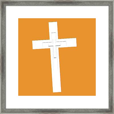 It's Never Too Late Jesus Loves You Framed Print