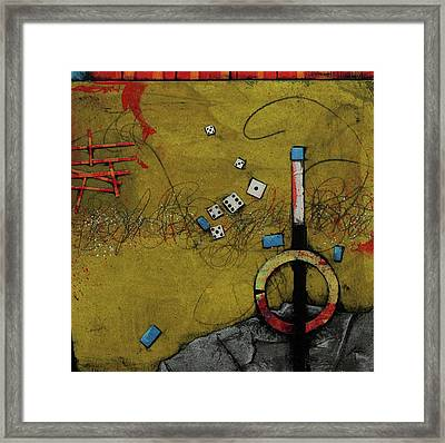 It's Not A Gamble 				 Framed Print