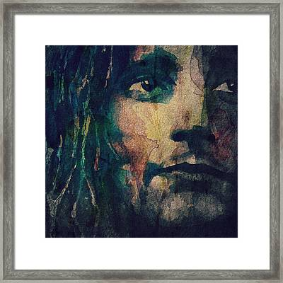 It's Not The Spot Light Framed Print by Paul Lovering