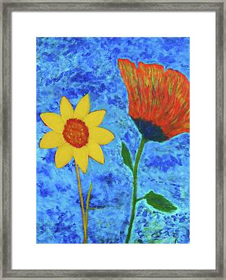 It's O.k. To Be Different Framed Print