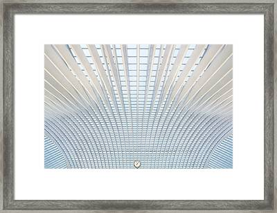 It's Only A Matter Of Time Framed Print by Michiel Hageman